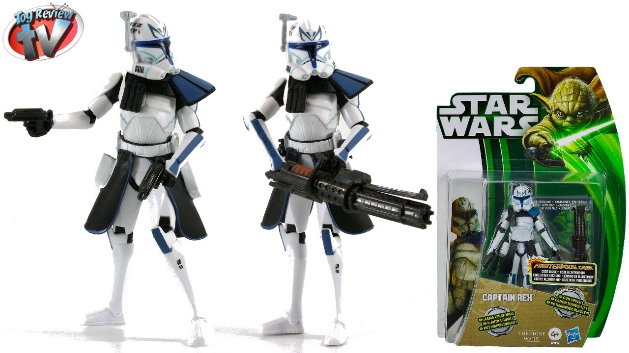Hasbro Star Wars Clone Wars Captain Rex 2013 Cw04 Wave 1 375