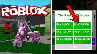 $50,000 AND SCOOTER BOUGHT! (ROBLOX BLOXBURG)