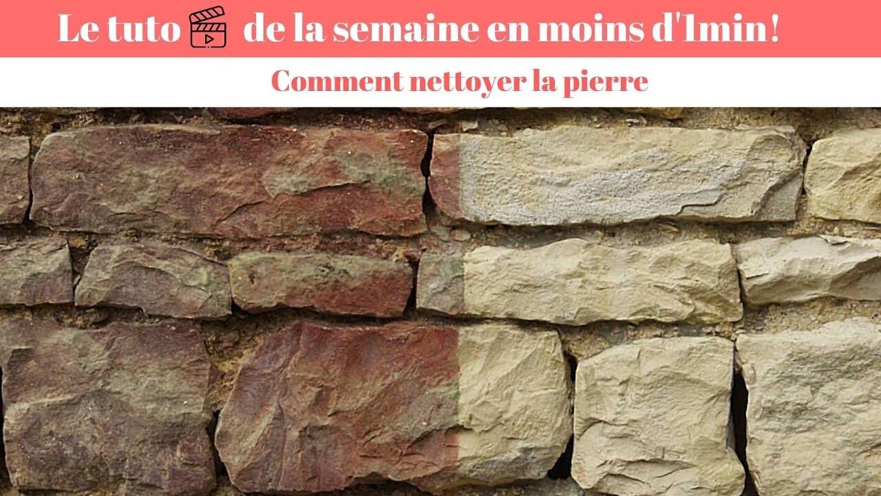Nettoyer La Pierre Quel Produit Pour Le Nettoyage De La Pierre Youtube