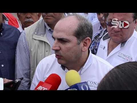 Director de CONAGUA inagura el sifón del Río Nazas