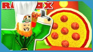 PIZZA LAND UPDATE - ROBLOX LEPRECHAUN SIMULATOR