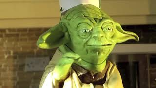Puppet Yoda (Bakes A Cake)-Re-uploaded