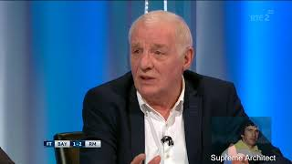 Eamon Dunphy Real Madrid are gonna win the Champions League no matter what Liverpool do