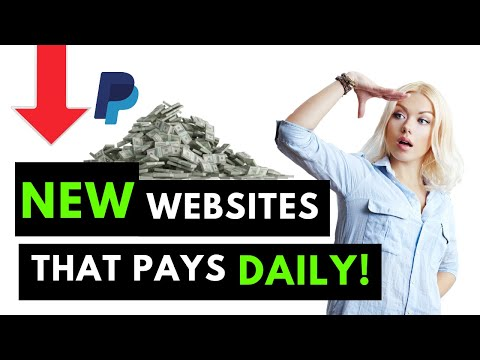 NEW Free Website Pays You $840 Daily PayPal Money! Make Money Online 2021