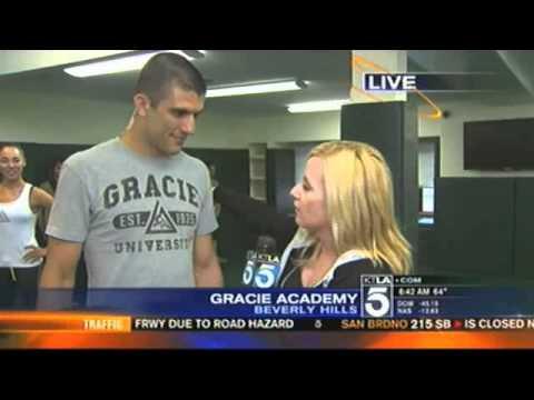 Gracie Jiu-Jitsu Beverly Hills Grand Opening (KTLA Ch 5 June 8, 2012)