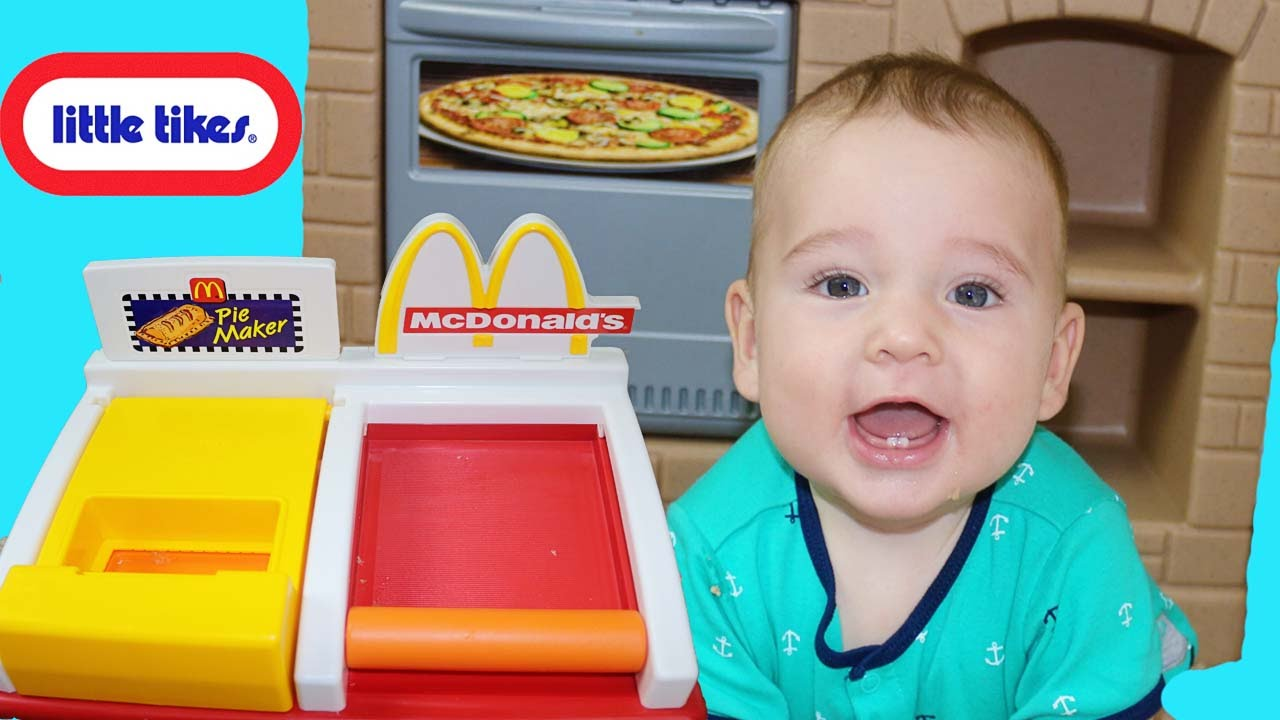 Toy Review Little Tikes Bbq Cook N Play Outdoor Bbq Set