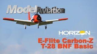 horizon hobby e flite carbon z t 28 bnf basic model aviation