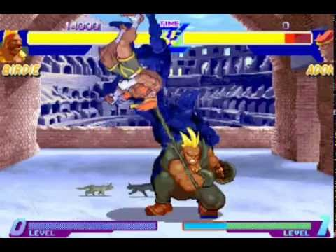 Street Fighter Alpha 1 - All Super Combos