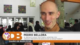 PEDRO BELLORA TOCÓ EN EL HOSPITAL Y EL SÁBADO PRESENTA EN BARILOCHE SU DISCO