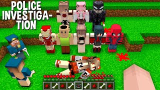 WHO DID THIS to TNT GIRL in Minecraft ??? POLICE INVESTIGATION