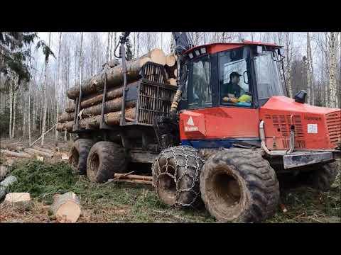 Logging with Valmet