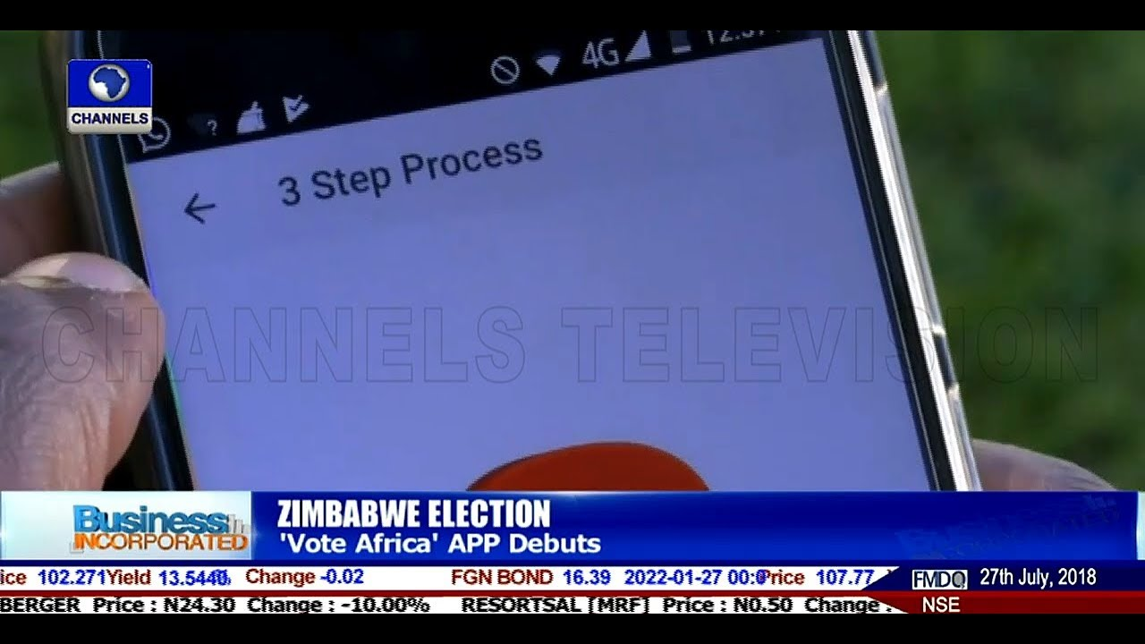 Vote Africa' App Debuts Ahead Of Zimbabwe Election |Business