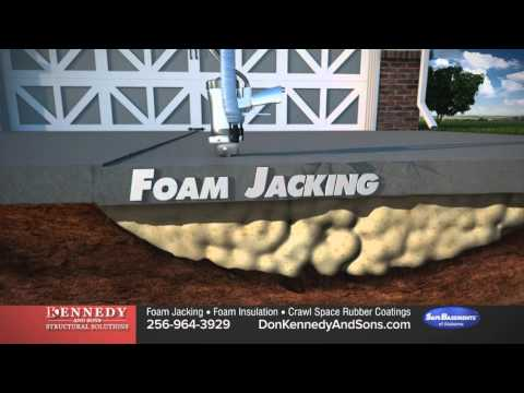 Concrete Raising And Leveling | Concrete Slab Repair - Don Kennedy And Sons