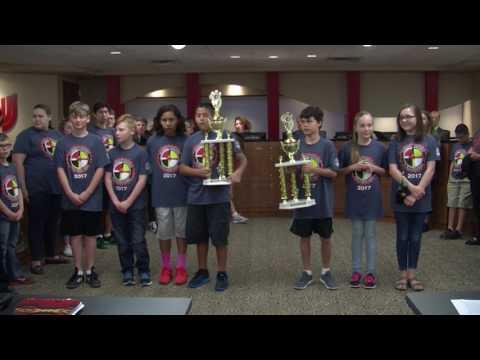 Union Board Members Recognize Native American Student Awards