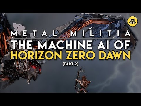 The AI of Horizon Zero Dawn | Part 2: Metal Militia | AI and Games thumbnail