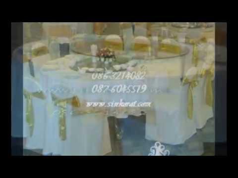 """ผ้าปูโต๊ะกลม ผ้าปูโต๊ะอาหาร """"ร้านสินผ้าคลุม"""" โทร.086-3214082"""