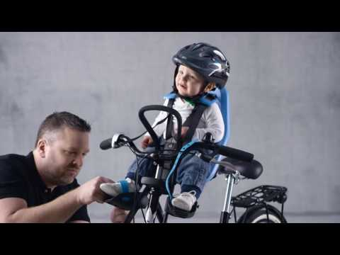 Yepp Mini Front Child Bike Seat Demonstration