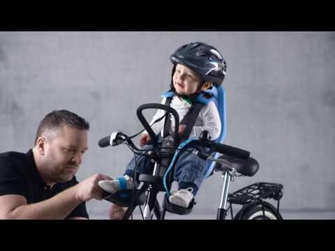 Yepp Mini Front Child Bike Seat Demonstration