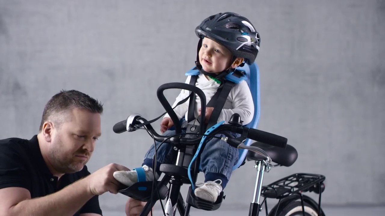 Yepp Mini Front Child Bike Seat Demonstration Youtube