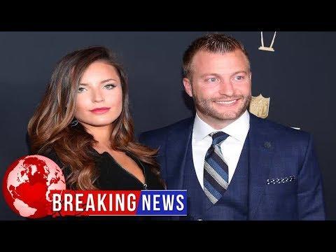 Rams coach Sean McVay engaged to girlfriend Veronika Khomyn