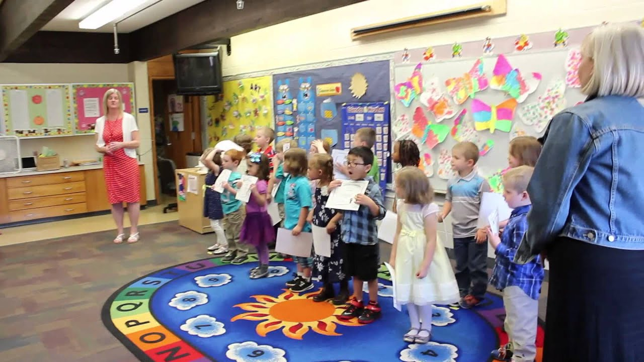 Preschool Graduation Ceremony - YouTube