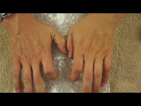 1 Hour of Pure ASMR - Bubble Wrap Close Up - No Talking