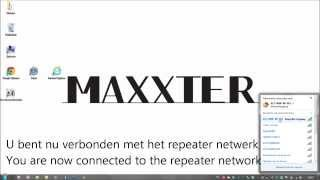 Hoe stel ik mijn MAXXTER repeater in (how to setup my MAXXTER repeater)