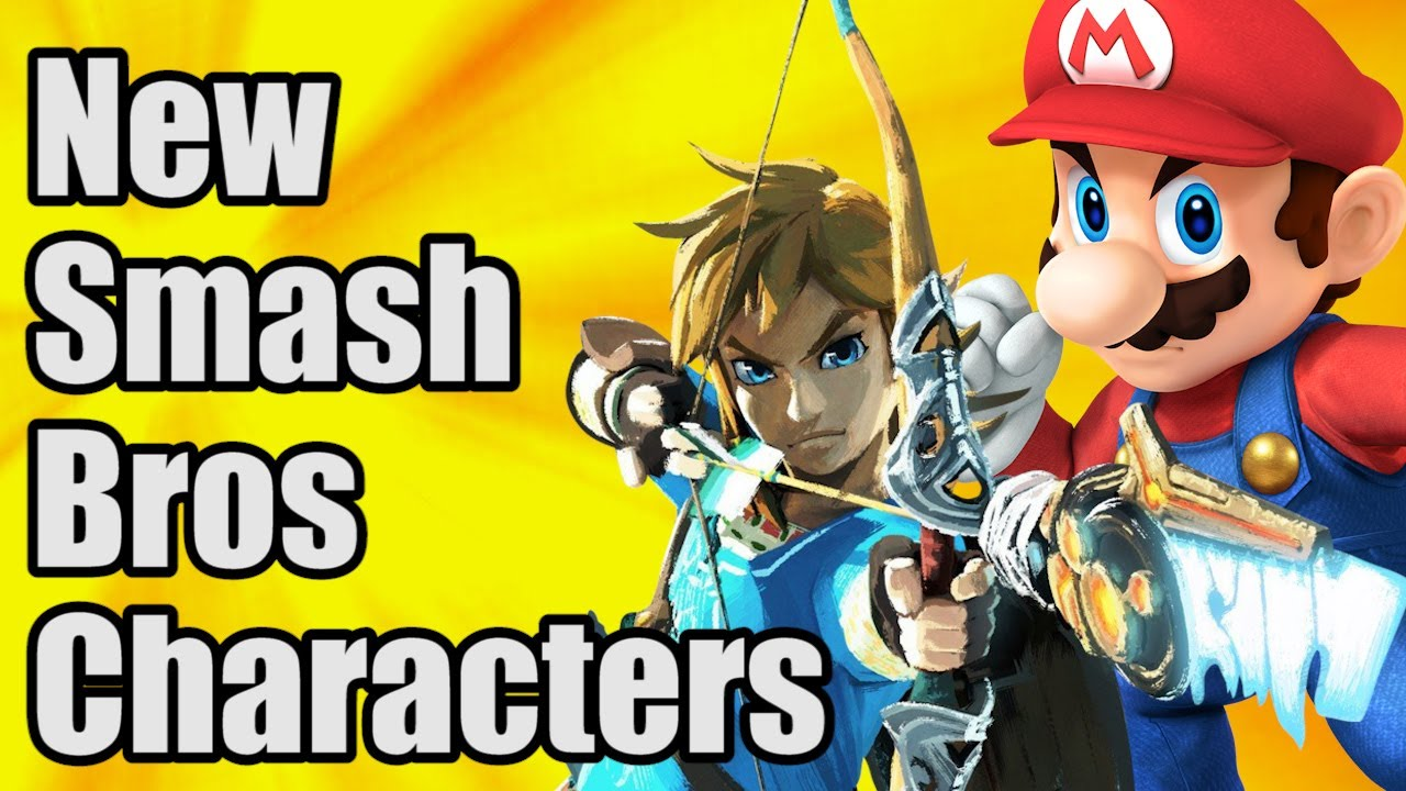 new super smash bros switch characters youtube