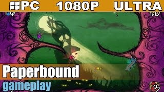 Paperbound gameplay HD [PC - 1080p] - Fast Placed Action Game