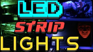 USB RGB LED STRIP LIGHTS - REVIEW