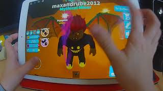 ROBLOX MINING SIMULATOR GAMEPLAY IPAD AIR 2