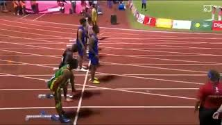 2019 pacific games 100 Metres final