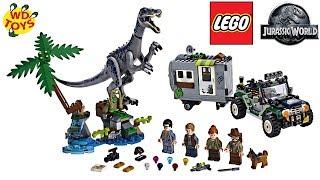 Новий Світ Юрського періоду Лего іграшки Іграшки ярмарок 2019 Впало Королівство Лего Барионикс динозавр вкидання 75935