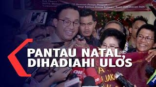 Pantau Natal di Gereja, Anies Baswedan Dihadiahi Ulos