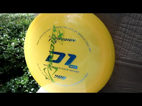 Prodigy D1 MAX Review (This disc is FAST) 400 plastic