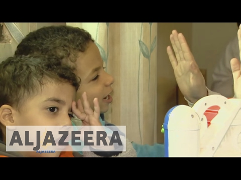 Lack of funds for Syria's disabled children