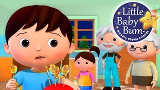 Little Baby Bum | Johny Johny Yes Papa Part 4 | Nursery Rhymes for Babies | Songs for Kids