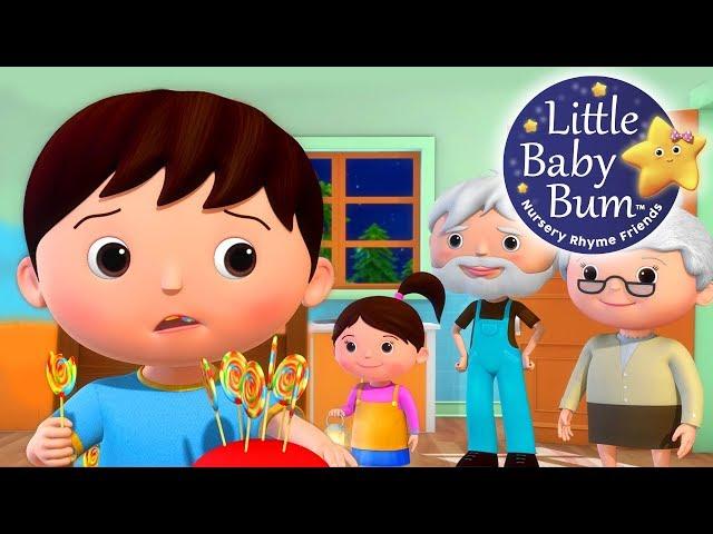 Johny Johny Yes Papa   Part 4   Grandparents Version   Nursery Rhymes   By LittleBabyBum!