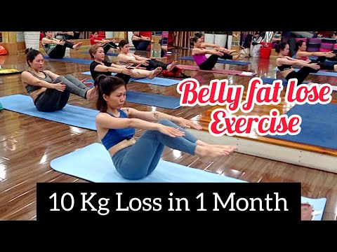 10 kg loss 🔥 in 1 month | Best weight loss and belly fat loss exercise 2021