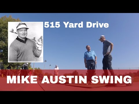 Unlocking the Secret to the 515 Yard Drive, Mike Austin Biographer Phillip Reed