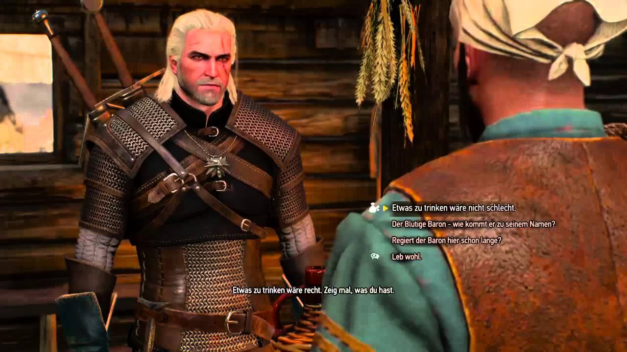 Witcher 3 Schwierigkeitsgrad