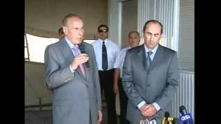 Гейдар Алиев и Роберт Кочарян: В Военной Палатке