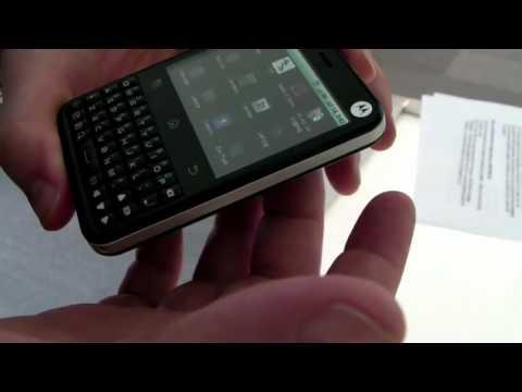 TELUS Motorola Charm Quick Overview