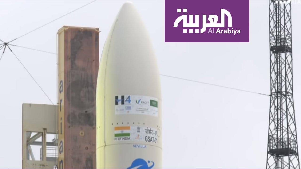 العربية تنقل لحظة إطلاق القمر السعودي SGS-1 من غويانا الفرنسية