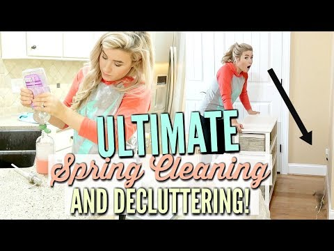🌷ULTIMATE SPRING CLEAN WITH ME 2019 | DECLUTTER & ORGANIZATION | VERY SATISFYING | Love Meg