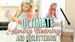 🌷ULTIMATE SPRING CLEAN WITH ME 2019   DECLUTTER & ORGANIZATION   VERY SATISFYING   Love Meg