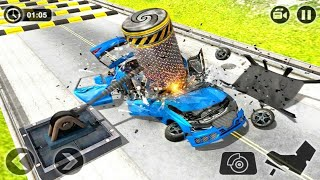 Deadly Race - Speed Car Bumps Challenge - Gameplay Android