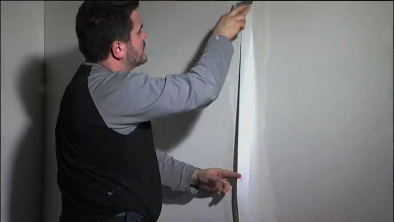 Gyproc seinän tasoitus ja maalaus