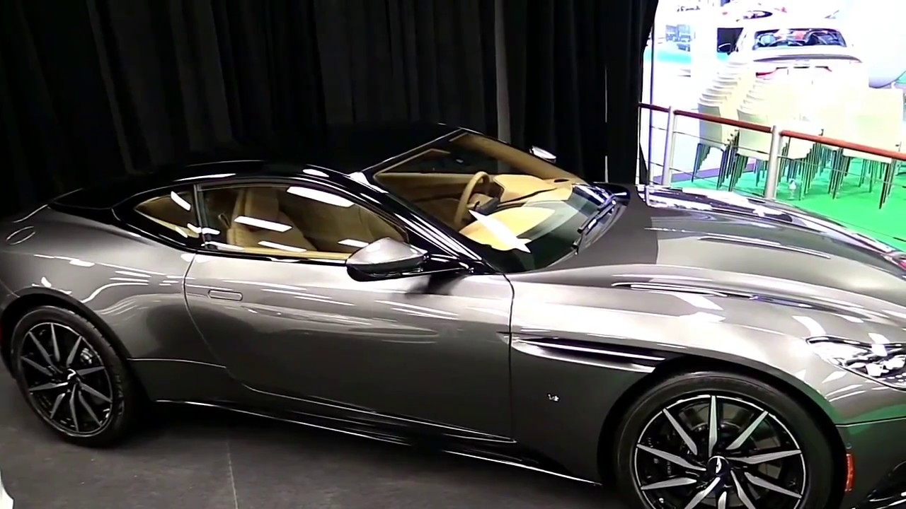 2017 aston martin db11 convertible first look in hd youtube. Black Bedroom Furniture Sets. Home Design Ideas