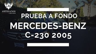 Review Mercedes clase c 2005.